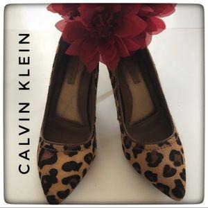 Calvin Klein Leopard Pumps/Heels
